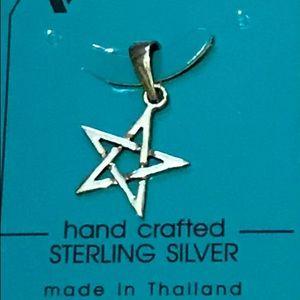 Jewelry - Sterling silver pentagram